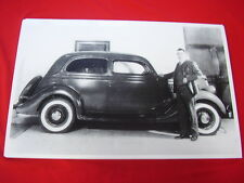 1935 FORD IN DEALER SHOW ROOM  BIG  11 X 17  PHOTO PICTURE MY GRANDFATHER!!!