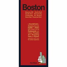 Red Maps Boston CURRENT EDITION - City Travel Guide