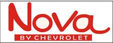 C040 Nova by Chevrolet Automobile car truck antique vehicle banner garage signs