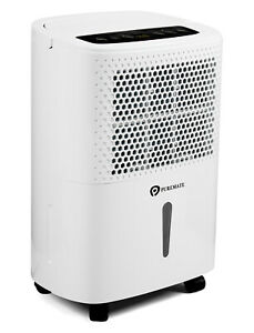 PureMate 12L/Day Digital Dehumidifier with Air Purifier & Continuous Drainage