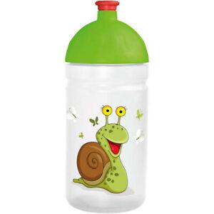 ISYBE Trinkflasche Motiv Schnecke, 0,5l