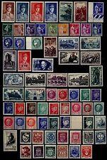L'ANNÉE 1941 Complète, Neufs * = Cote 94 € / Lot Timbres France n°470 à 537