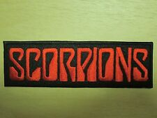 Scorpions embroidered Iron on Patch High Quality Shirt