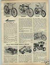 1966 PAPER AD Pedal Murray Racer Fire Ball Tractor Bicycles Bike Wildcat Missile