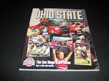 ORIGINAL OHIO STATE FOOTBALL PROGRAM VS.SAN DIEGO STATE  SEPTEMBER 6, 2003