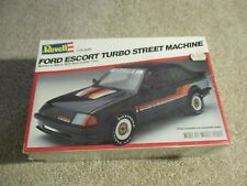 Revell Ford Escort Turbo Street Machine 1/25 Scale Model Kit MISB Sealed 1981