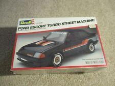 Revell Ford Escort Turbo Street Machine 1/25 Scale Model Kit MISB Sealed 1981