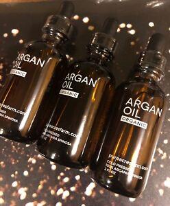 pureacresfarm ARGAN OIL Organic Hair,Scars ,Stretch Marks To Repair Skin (3 Pcs)