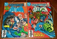 Detective Comics: Batman #547 & #548, (1984, DC): Green Arrow!