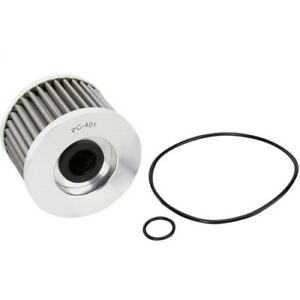 PC Racing FLO Drop In Stainless Steel Oil Filter PC401