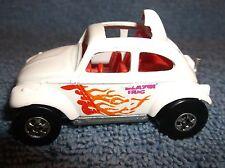 "1983 Hot Wheels Blazin' Bug 2 1/4"" Toy Diecast Car White - Nice"