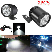 40W 2PCS U22 LED Motorcycle Boat Spot Driving Headlight Fog Light Lamp w/Switch