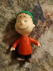 "Peanuts Snoopy ""LINUS"" Figure 2013 he has a Green Cap Ornament New CUTE"