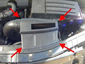 AUDI TT TFSI 2012 1.8 2.0 FRONT PANEL AIR DUCT COMPLETE ORIGINAL GENUINE MK2 8J