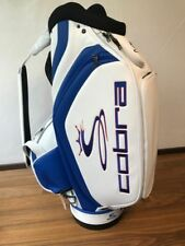 COBRA Tour staff Bag Bianco/Blu bitish Open/Limited Edition/PEZZO UNICO * NUOVO *