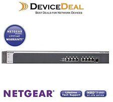 Netgear XS708E ProSAFE 8-Port 10G Unmanaged Plus Switch with 1x SFP+ combo port