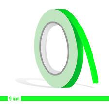 ZIERSTREIFEN - 9mm NEON GRÜN Fluor 10m  Auto neongrün 9 Decal Pin-Stripe 0,9cm