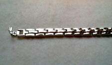 Braclet 8 Inches Unisex Alloy Steel Link