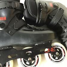 Powerslide Zoom 100 Skates Black Size 8.0 - 9.0 (41-42) (Z02C)