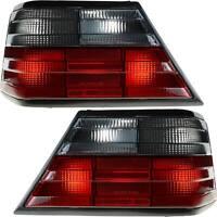 Rückleuchten Heckleuchten Set Mercedes W124 E-Kl 85-95 Grau/Rot MJT