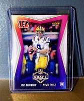 Joe Burrow 2020 Panini NFL Instant Draft Night #1 Football Rookie Card In-stock