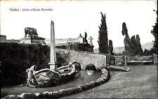 Tivoli Italien Italia s/w Postkarte ~1920/30 Villa d'Este Rometta Cartolina