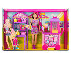 Brand New Barbie Sisters Popcorn & Souvenirs Playset with Barbie Doll by Mattel