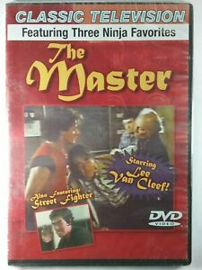 The Master DVD, Featuring 3 Ninja Favorites, Thin Case, FREE SHIPPING New