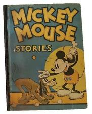 """Book, """"Mickey Mouse Stories"""", 1934, Book Number 2, Very Rare"""
