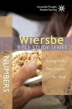 Numbers: Living a Life That Counts for God by Dr Warren W Wiersbe (Paperback /