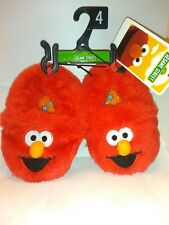 NEW Elmo Cookie Monster Slipper, Size 2,3,4,5,6 lindas pantuflas infantiles