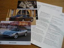 JAGUAR XK communiqué de presse, photos et Spec. brochure JM