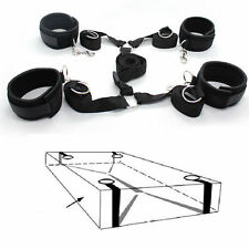 Under the Bed system Sexy tool Set Nylon Bands Neoprene Wrist Ankle Cuffs