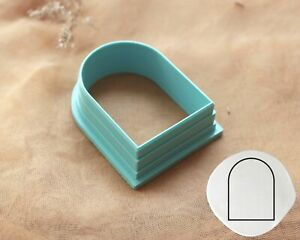 Arch #7 Cookie Fondant Polymer Clay Cutter | Earrings Cutter | Clay Jewelry