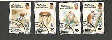 Brunei Darussalam SCOTT #424-427  Proboscis Monkey Θ used set of stamps