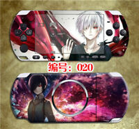 Tokyo Ghoul Skin Stickers for PSP3000 Ken Touka Protector Decals for PSP2000