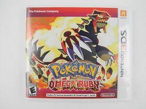 *No Game* Pokemon Omega Ruby Nintendo 3DS Empty Case Only (READ DESCRIPTION)