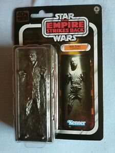 Han Solo In Carbonite Episode 5 40th Anniversary Black Series Action Figure