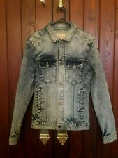 Vintage Stonewash Jacket By Acne Jeans Size S/M