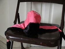 Ladies Winter Hat Fake Fur Pink Russian Ushanka/Cossack o/s