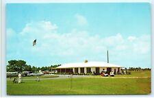 Ocean City Golf Club Yacht Club Golf Cart Golfers Maryland Postcard A87