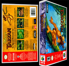 Tarzan - N64 Reproduction Art Case/Box No Game.