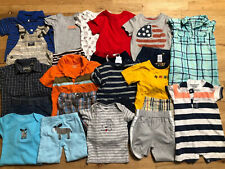 Baby Boy Clothes lot 12  Months Spring/Summer Outfits and Sets Free shipping
