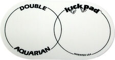 AQUARIAN DKP2 DOUBLE KICK PAD FOR DOUBLE BASS DRUM DOUBLE BASS BEATER PAD