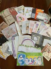Taiwanese / Japanese / Korean Morning Glory Letter Pad And Sheets Stationery