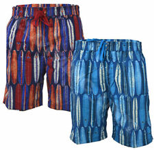 Unbranded Striped Polyester Big & Tall Shorts for Men