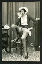 French 1925 Ostra Studio PARISIAN Smoker Flashing LEGS Panties ~ VASTA Archives