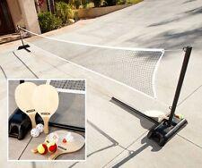 Lifetime Driveway 3 Sports Set - 90421 Tennis, Badminton, Pickelball Net, Paddle