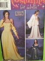 Simplicity Sewing Pattern 5843 Misses Padme Renaissance Costume Size 12-20 Uncut