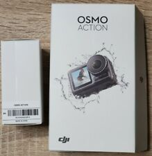 DJI Osmo Action 4K Camera with additional batteries and accessories
